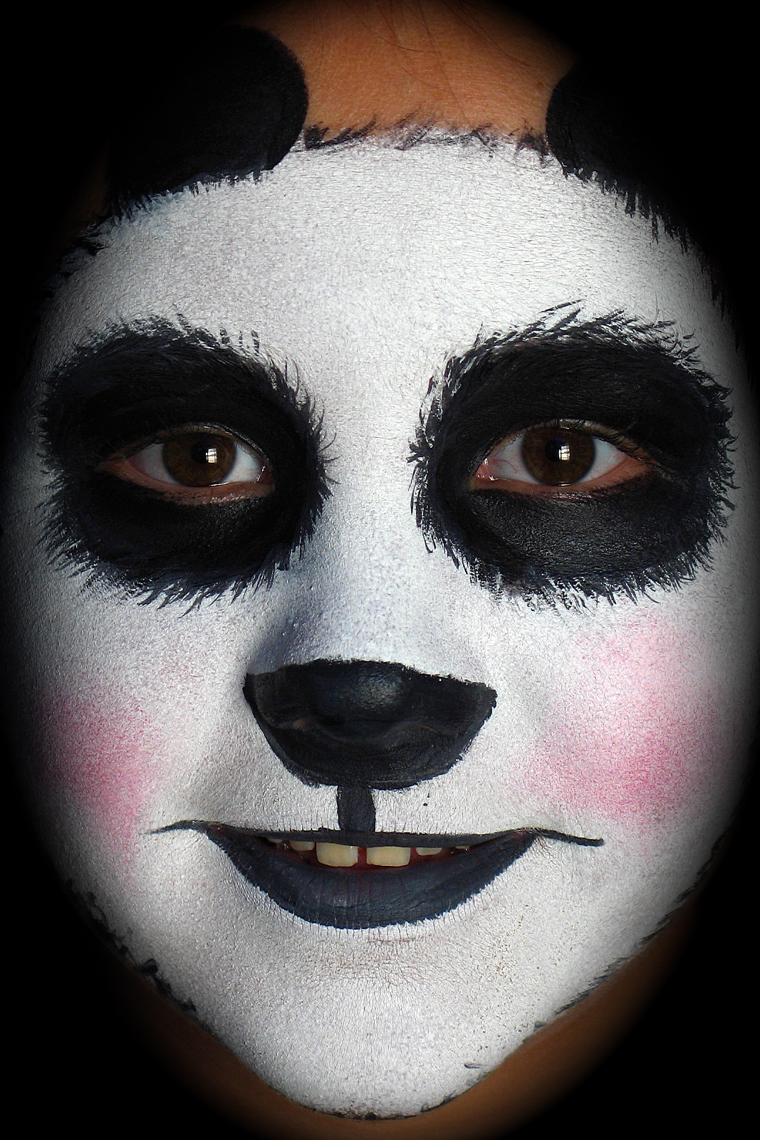 Panda Face Painting Designs Picture